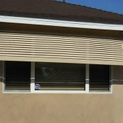 Fixed-Louver Aluminum Window Awning