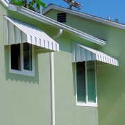 Solid Aluminum Window Awnings