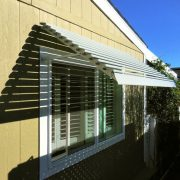Fixed Louver Aluminum Awning
