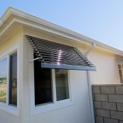 Fixed Louver Aluminum Window Awnings