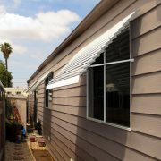 Fixed-Louver Aluminum Window Awnings