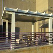 Freestanding Newport Solid Alumawood Patio Cover