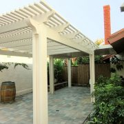 Laguna Lattice Alumawood Carport