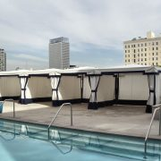 Commercial Pool Cabanas
