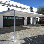 Attached Canvas Carport