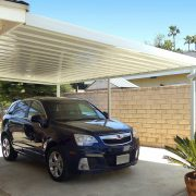 Attached Aluminum Carport