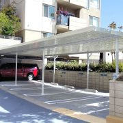 Aluminum Multi-Car Port