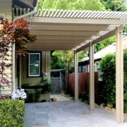 Attached Alumawood Carport