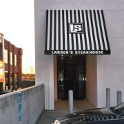 Standard Commercial Door Awning