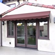 Ball Tip Style Door Awning