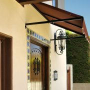 Open Side Door Awning