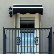 Drop Arm Retractable Door Awning
