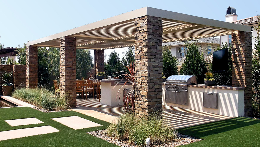 ... Equinox® Louvered Aluminum Patio Cover ...