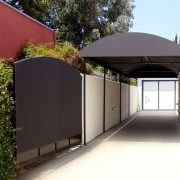 Canvas Carport & Gate Cover