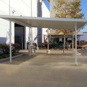 Freestanding Industrial Aluminum Canopy