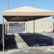 Industrial Canvas Canopy
