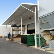 Industrial Aluminum Loading Dock Canopy