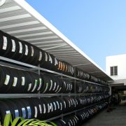 Industrial Aluminum Storage Canopy