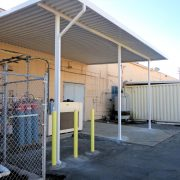 Industrial Aluminum Loading Dock Canopy
