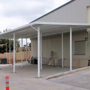 Industrial Aluminum Canopy