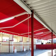 Industrial Retractable Awnings