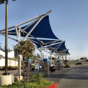 Industrial Shade Sail Tension Structures
