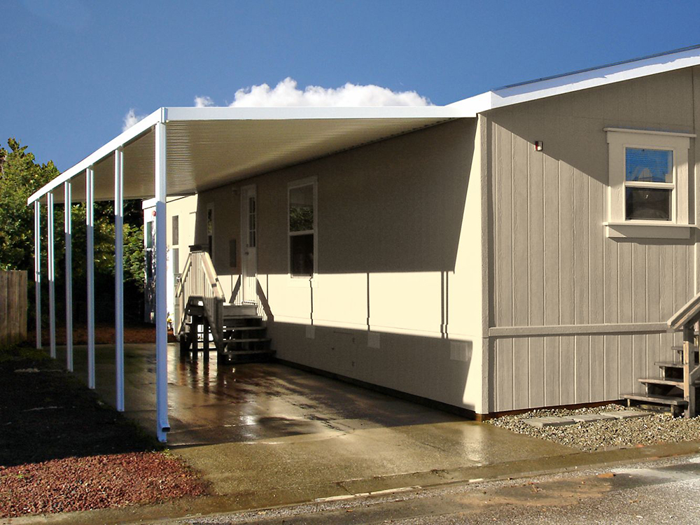 ... Enclosure Mobile Home Carport ...