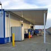 Portable Building Canopy