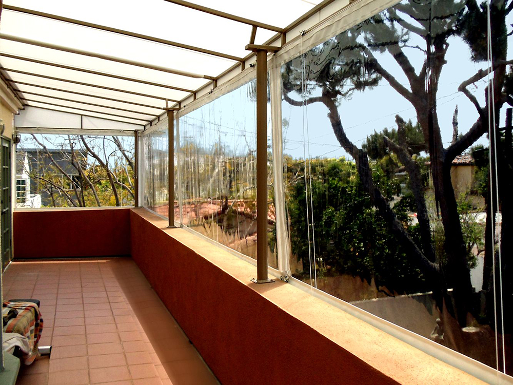 Outdoor Curtains, Drapes and Roller Shades | Superior Awning