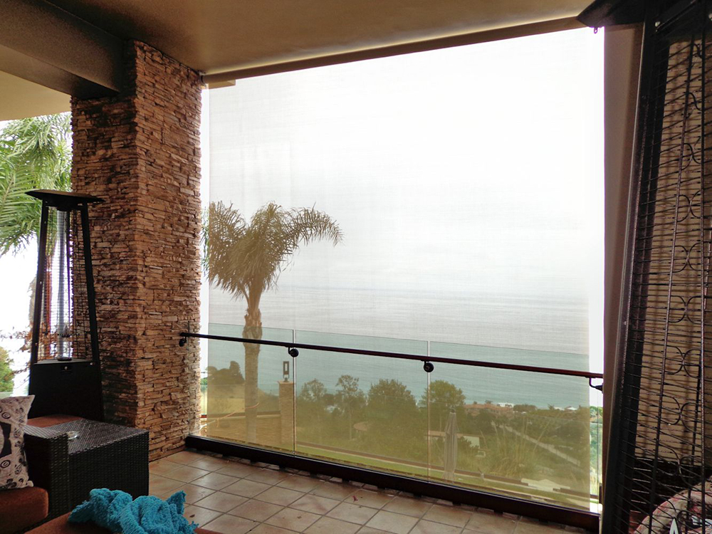 Outdoor Curtains, Drapes And Roller Shades