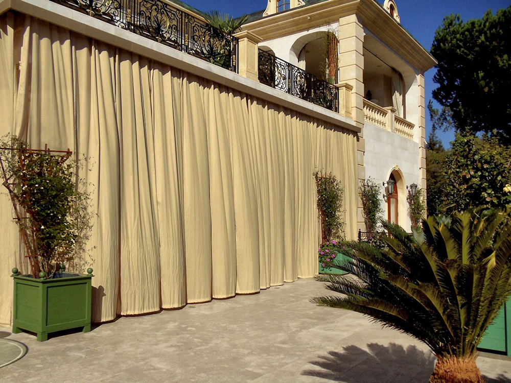 Outdoor Curtains Drapes And Roller Shades Superior Awning