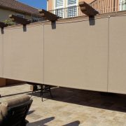 Solid Rope and Pulley Patio Shade