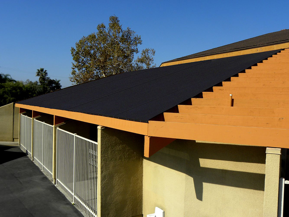 ... Fixed Patio Roof Panel ...