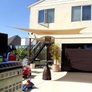 Shade Sail Carport Panel