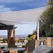 Shade Sail Patio Panels