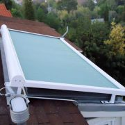 Retractable Rooftop Skylight Shade