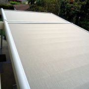 Retractable Skylight Patio Shade