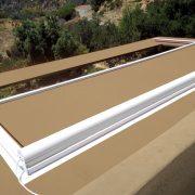 Skylight Patio Cover - Closing