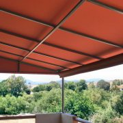 Patio Cover w/Integral Drop Shade