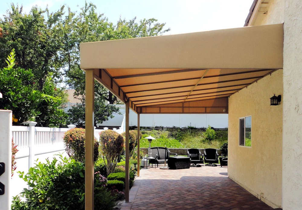 ... Canvas Patio Cover ...