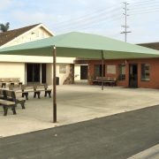Tension Style Patio Canopy