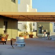 Canvas Rooftop Patio Cover