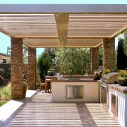 Louvered Patio Cover Roof