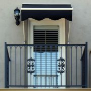 Retractable Door Awning