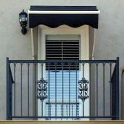 Retractable Door Awning
