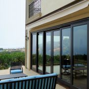 Retractable Awning - retracted