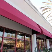 Standard Restaurant Window Awnings