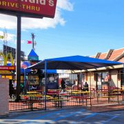 Freestanding Restaurant Patio Cover