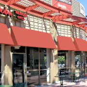 Standard and Radius Restaurant Awnings
