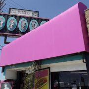 Vinyl Restaurant Awning